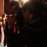 Mar Flores atiende a la prensa en el photocall