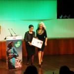 Pilar Muñoz y Sylvia Superstar suben al escenario a recoger su galardón