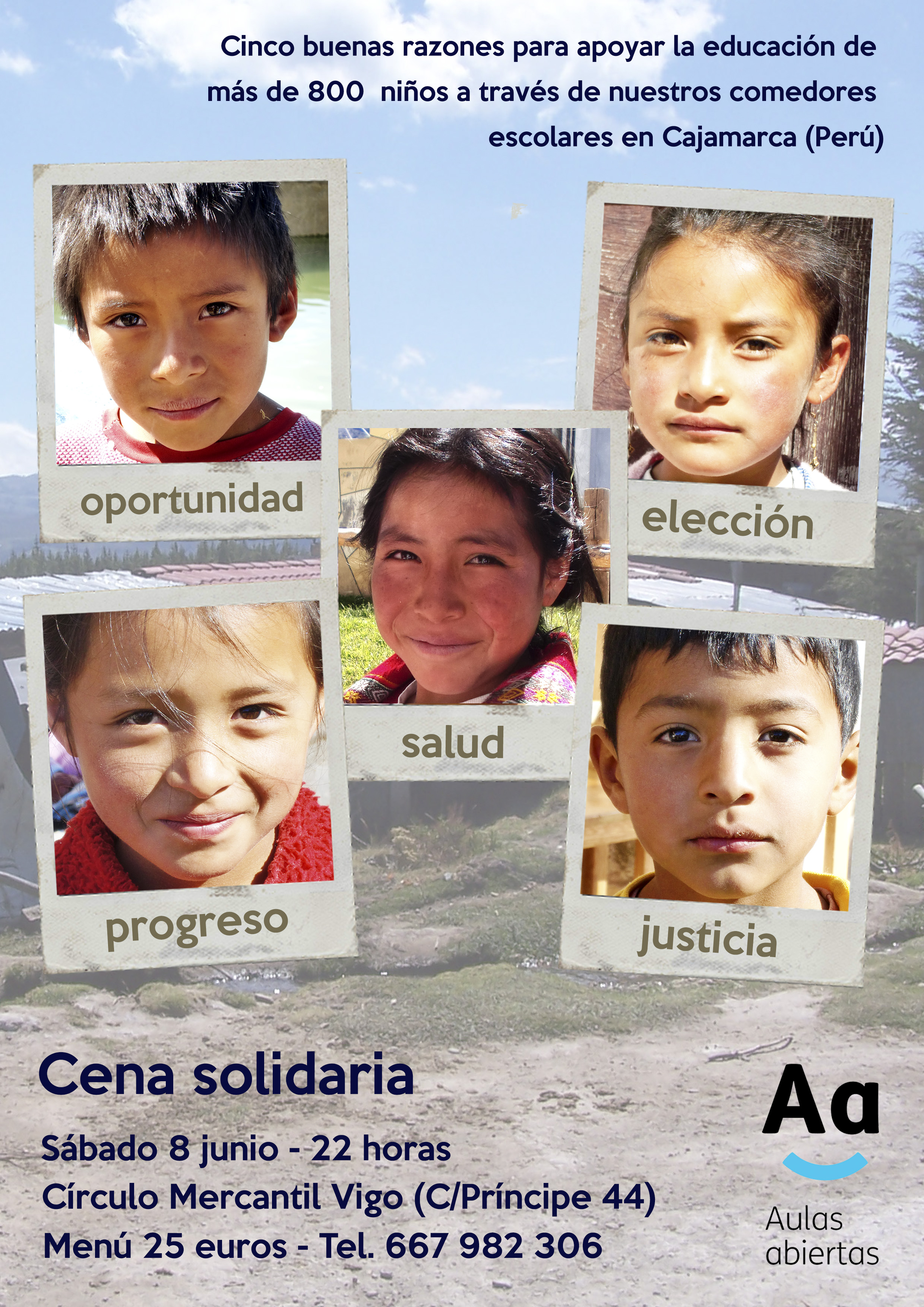 Poster cena Aulas Abiertas 2013