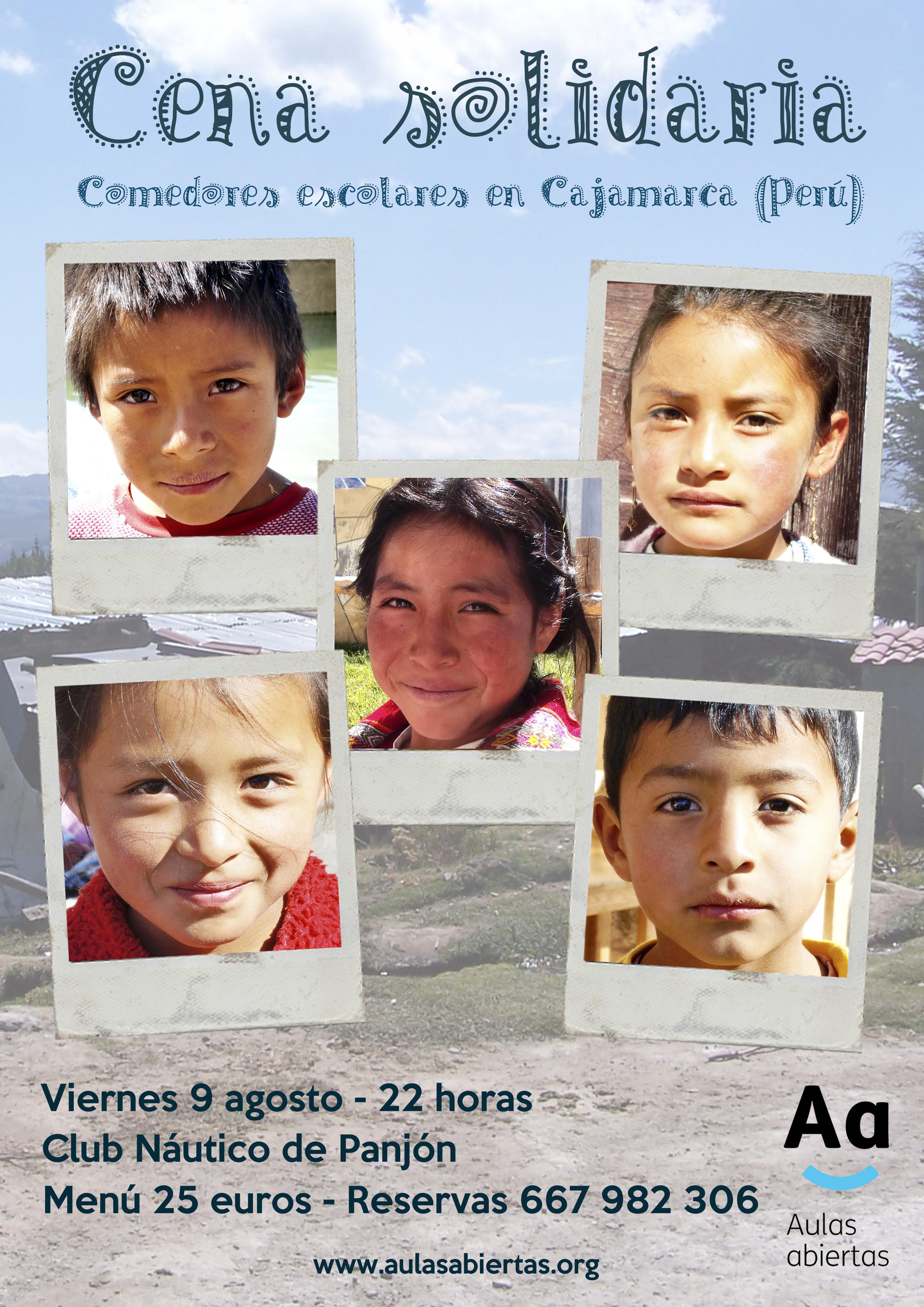 Poster cena Aulas Abiertas Panjón 2013