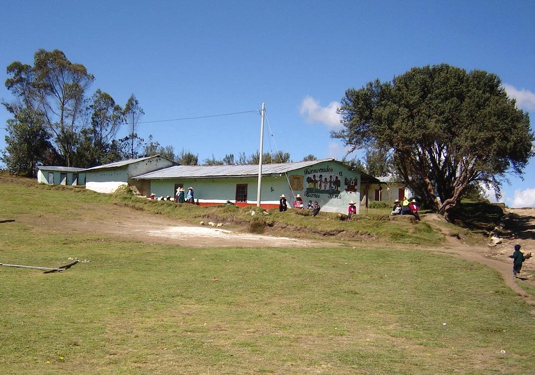 Escuela de Buenos Aires en Celendín (Perú)