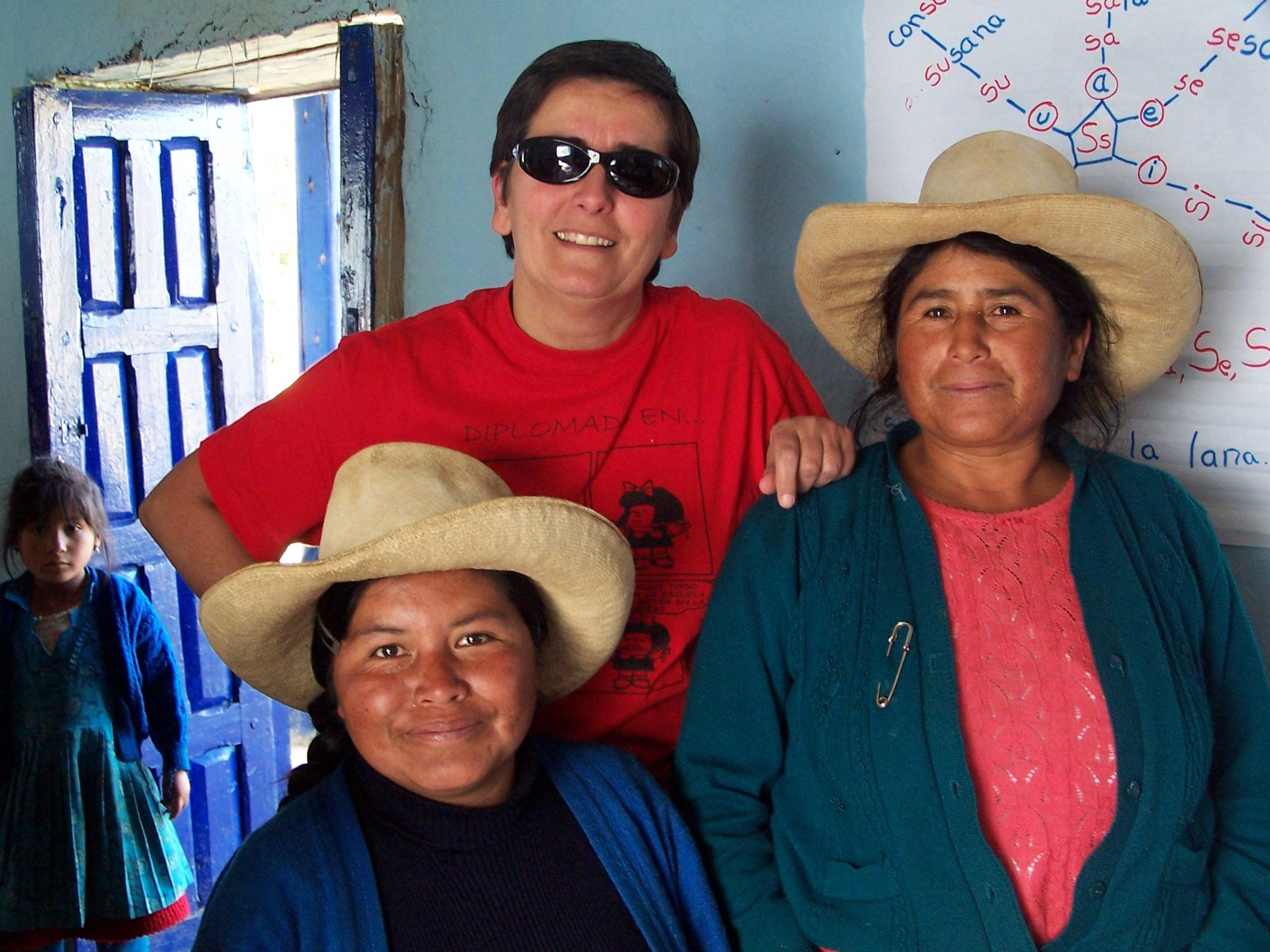 Pilar Muñoz de Aulas Abiertas - Comedores Escolares Perú