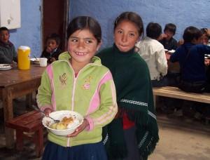 Comedores escolares Aulas Abiertas Perú